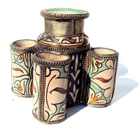 Moorish ink pot