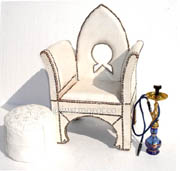 Alhambra blanche chair