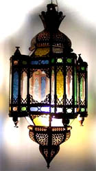 Moorish large chandelier