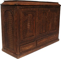 Moroccan carved chest